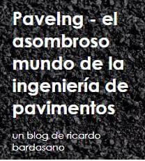 "PaveIng - el asombroso mundo de la ingeniería de pavimentos <a href=""http://paveing.blogspot.com/"" target=""_blank"">www.paveing.blogspot.com</a>"